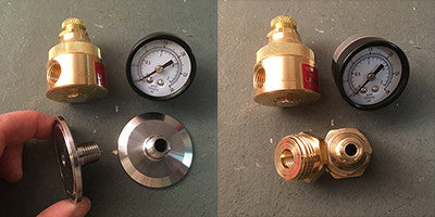 Assembling the Water Pressure Regulator
