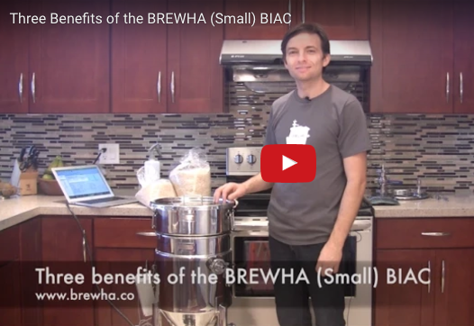 Three benefits of the BREWHA (Small) BIAC