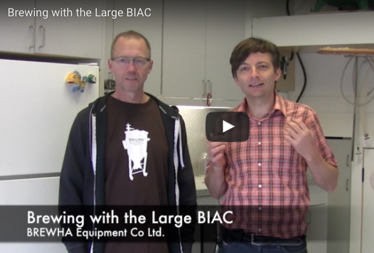 Brewing with the Large (1.5BBL) BIAC