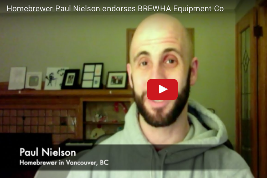 Paul N. (Home brewer, Vancouver, BC) endorses BREWHA