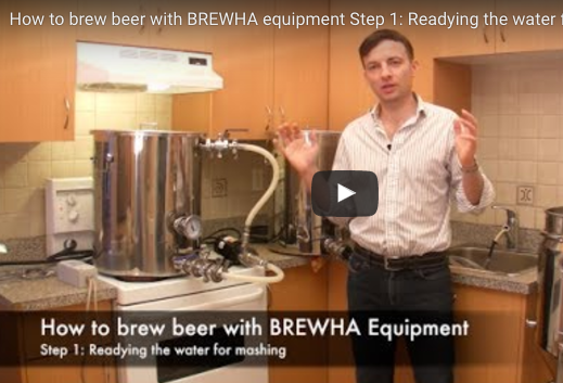 How to brew beer Step 1: Readying water and equipment