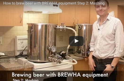 How to brew beer Step 2: Mashing grain to produce wort
