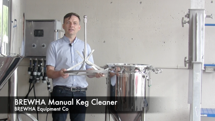 How to install and operate the BREWHA Keg Cleaner