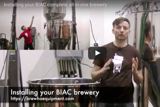 Installing your BIAC complete all-in-one brewery