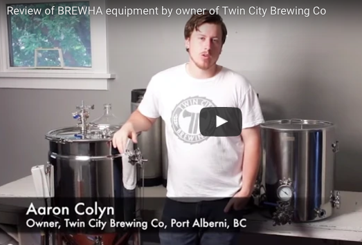 Aaron Colyn (Owner, Twin City Brewing Co) reviews BREWHA