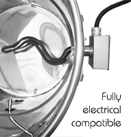 Stainless brewing equipment fully electrical compatible