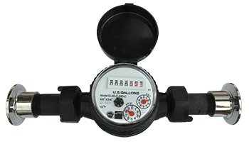 Flow meter for sparge water