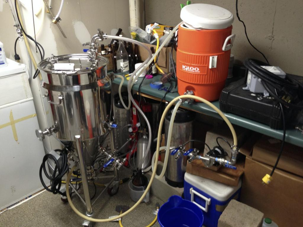 Stainless beer brewing equipment