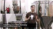Installing the BIAC brewery