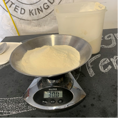 weight DME when propagating yeast with yeast starter