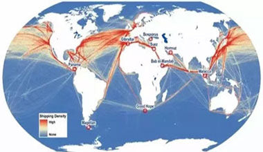 brewing equipment shipping routes