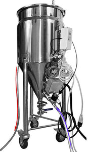 Stainless conical fermenter brewing equipment for electric brewing