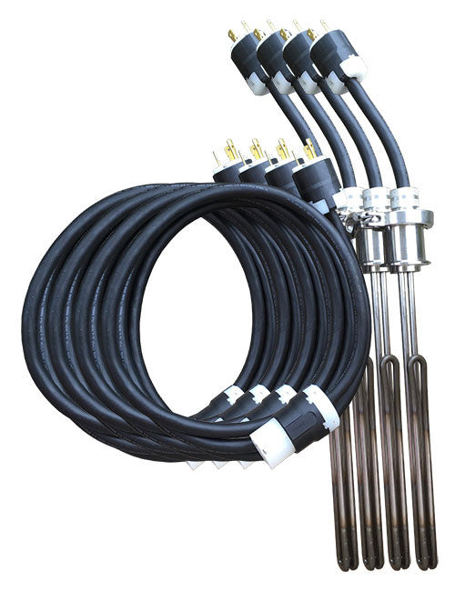 Stainless heating brewing elements ULWD