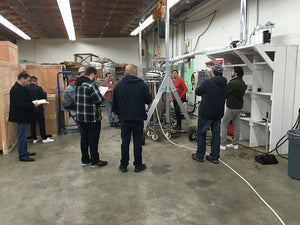 BREWday workshop masterclass at our shop in Victoria, BC