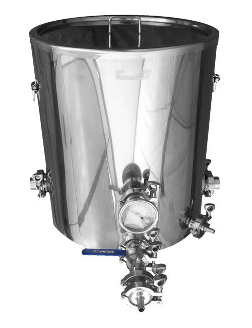 Stainless steel boil kettle for brewing beer