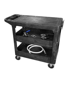 utility cart 500lb heavy duty industrial commercial