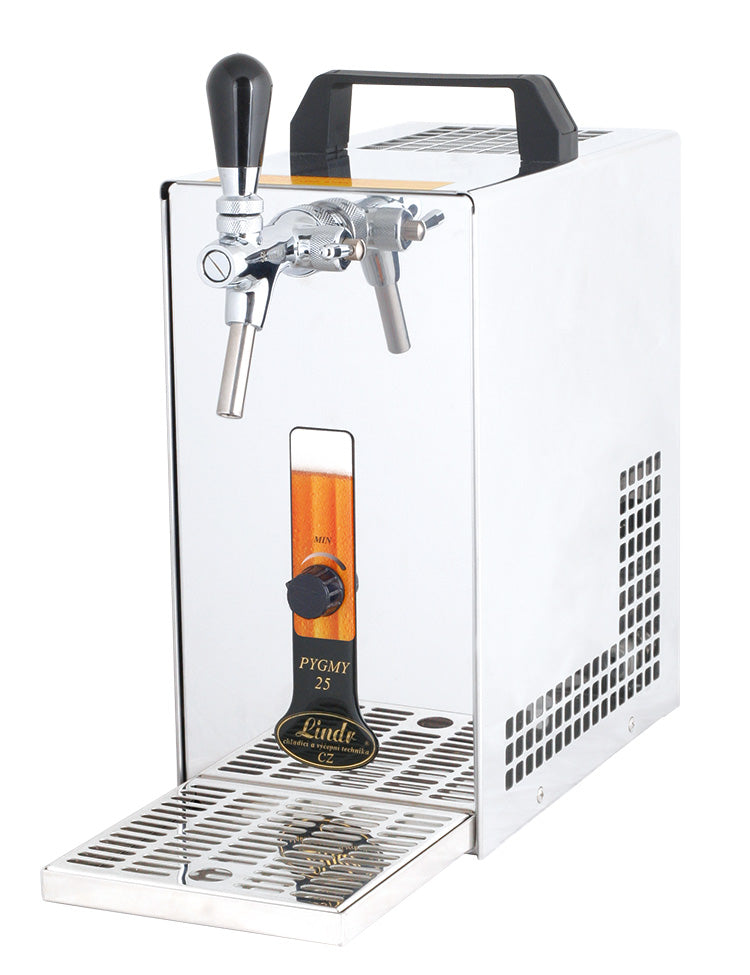 portable water chiller and dispenser and beer chiller and dispenser