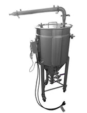 Load image into Gallery viewer, pot still jacketed conical fermenter BIAC and shotgun condenser