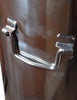 Stainless steel drop handles beer brewing
