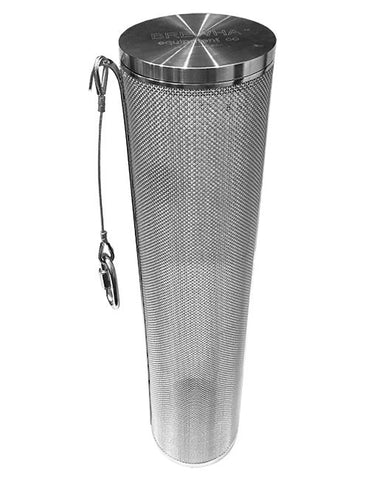 Stainless Hop Basket with Screw On Lid