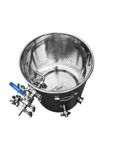 Load image into Gallery viewer, stainless mash tun 15 gallon 10