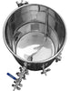Stainless steel boil kettle for home brewing beer