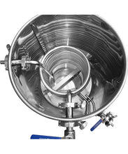 Load image into Gallery viewer, Stainless steel hot liquor kettle with HERMS coil for brewing beer