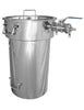 Stainless steel mash tun