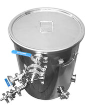 Load image into Gallery viewer, Stainless mash tun 10 gallon 15 gallon