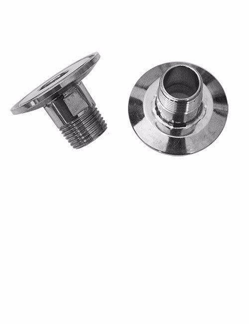 "1.5"" tri clamp by 1/2"" NPT nipple"