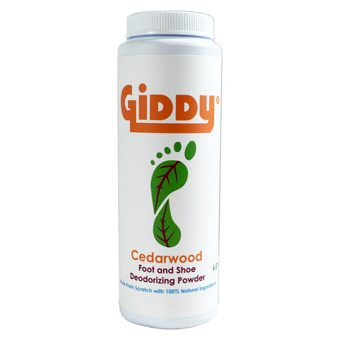 GIDDY Cedarwood Natural Foot Deodorizer
