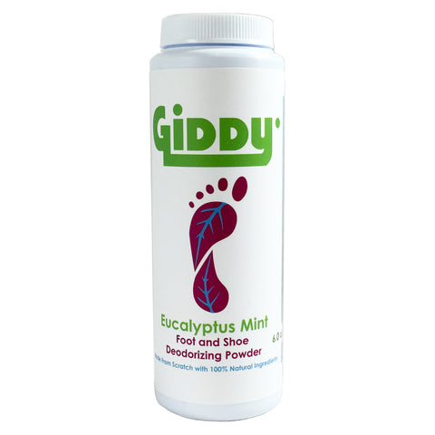 GIDDY Eucalyptus Mint Natural Foot Deodorizer
