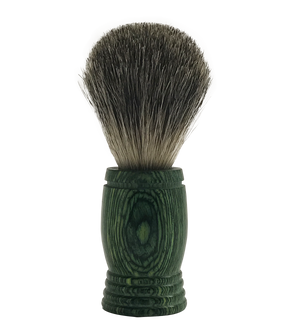 Pakkawood Badger Shaving Brush for the Globally Minded - Giddy - All Natural Skin Care