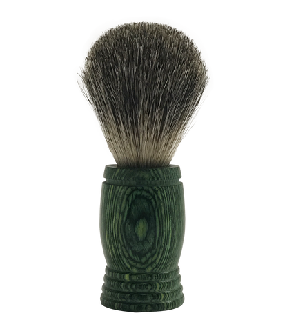 Pakkawood Badger Shaving Brush for the Globally Minded