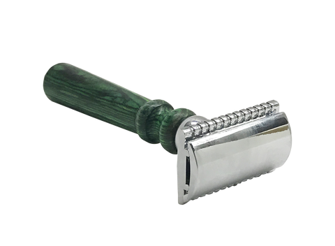 Pakkawood Safety Razor for the Globally Minded