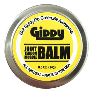 Giddy Joint & Tendon Balm - Giddy - All Natural Skin Care