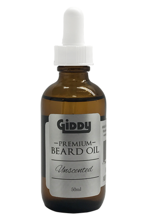 Unscented Premium Beard Oil - Giddy - All Natural Skin Care