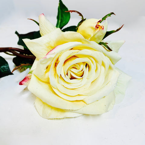 Rose (real touch) Jardin Yellow