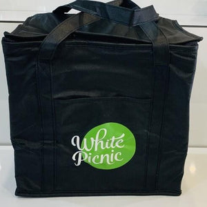 White Picnic Freezer Bag