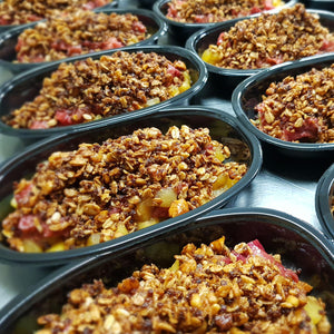 Rhubarb Crumble PUDDING GF & DF - 200grams