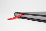 Red Grosgrain Bookmark in Bali Stingray StacheBook