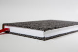 Oxford Herringbone Wool Journal