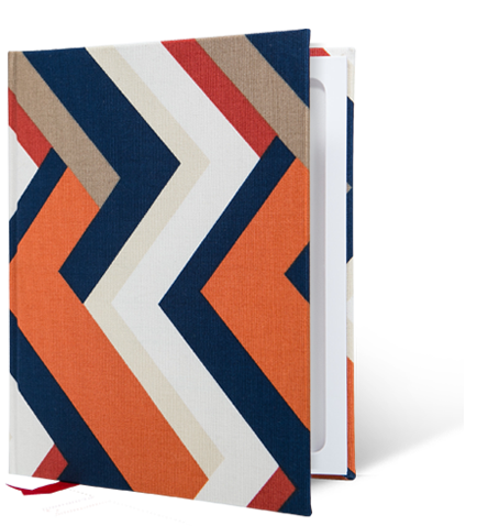 Marrakesh Chevron StacheBook for iPad mini