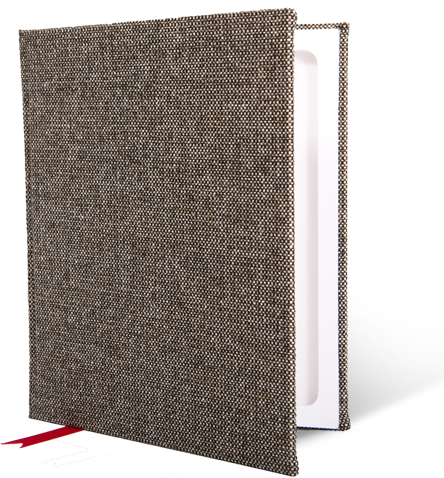 Hyde Park Heritage Tweed StacheBook for iPad Air/Air 2