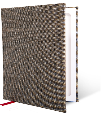 Hyde Park Heritage Tweed StacheBook for iPad mini