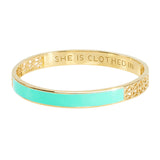 Aqua Strength and Dignity Bangle