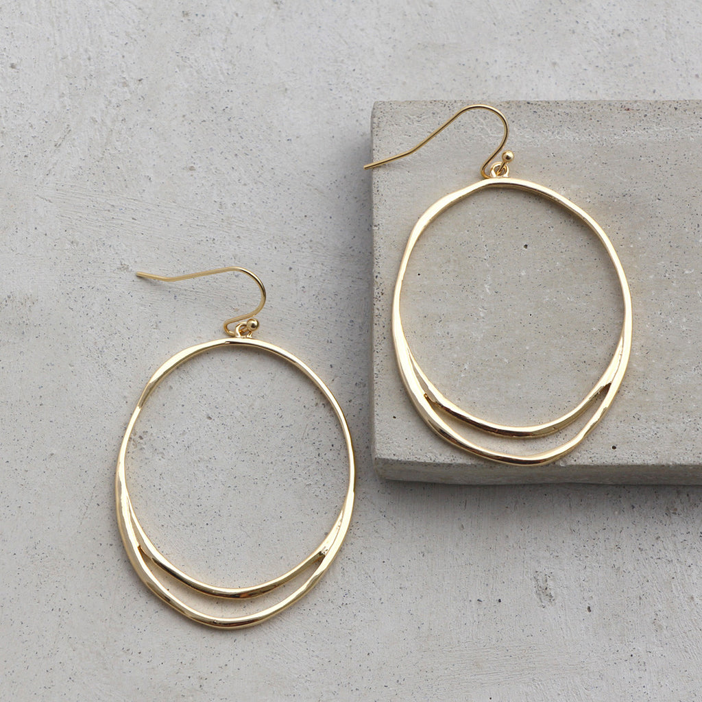 Set Apart Hoops- Gold