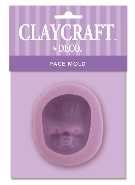 Face #5 Infant Baby Mold - CLAYCRAFT™ by DECO® - DECO Clay Craft Academy Shop
