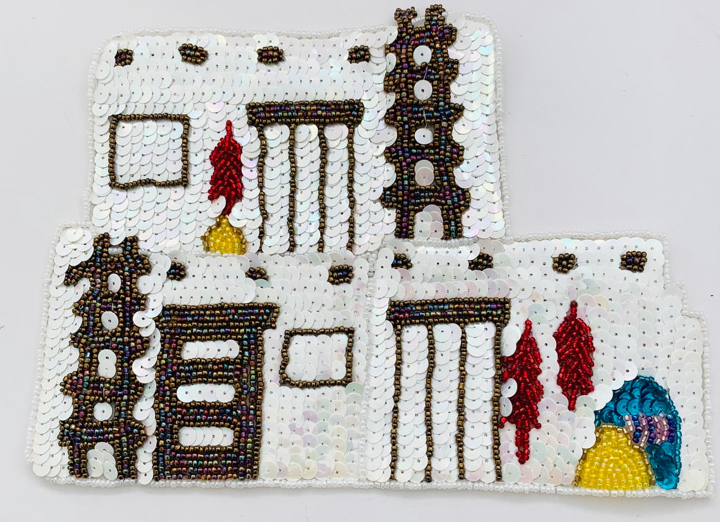 Adobe House w/ 2 variants, white or beige 8.5