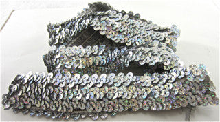 SEQUIN STRETCH TRIM. 1 YARD AND 1.5""
